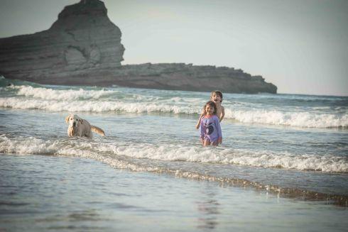 Wellen springen