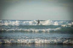 Marco beim Surfen